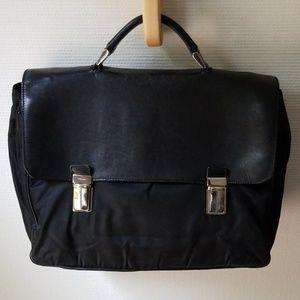 Authentic Black Prada Briefcase